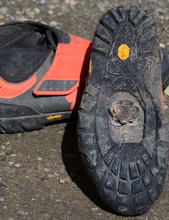 The Vibram soles make walking a non issue