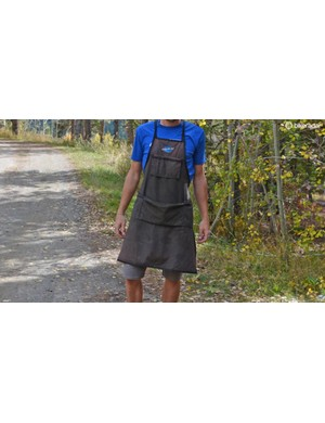 At around 14 years old, this Park Tool apron could very well be my oldest piece of cycling gear