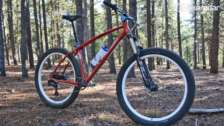 Retrotec's Funduro is a custom, steel, 27.5+ hardtail with a bunch of American-made parts