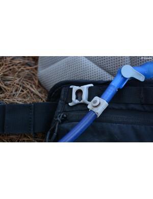 CamelBak's ingenious magnetic tube trap works well