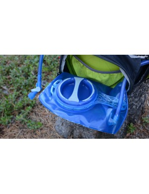 The 1.5-litre reservoir is replete with the standard CamelBak tech, minus the quick disconnect for the hose