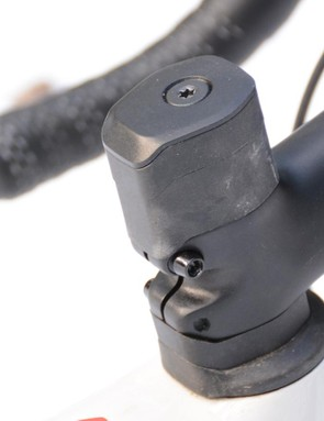 The odd shape looks pretty integrated if the stock stem works for you