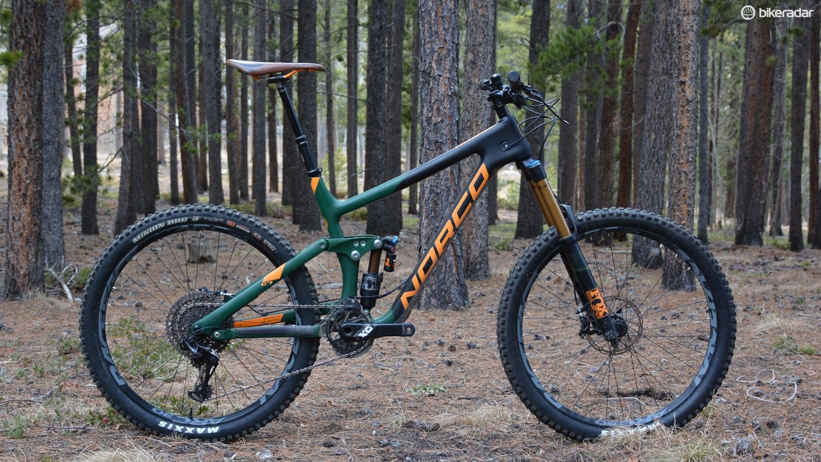 Norco's Range C7.1 is a British Columbia-bred enduro smasher