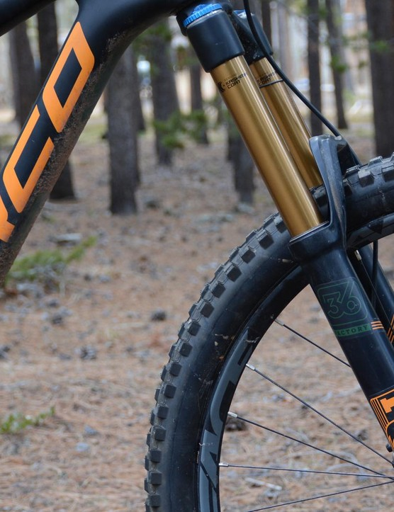 The 170mm travel Float 36 RC2 was the ideal fork for this bike