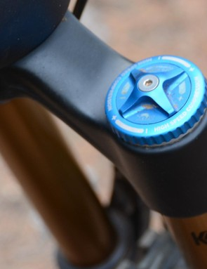 Having independent low- and high-speed compression really let the fork be tuned for different terrain and riding styles