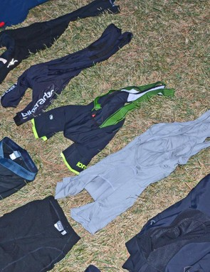 A few of my bibs and shorts that are in current rotation