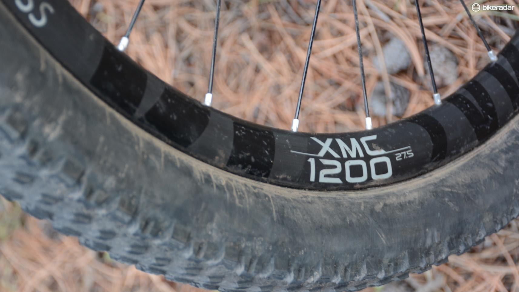 These DT Swiss XMC 1200 wheels surprised and impressed me