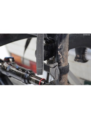 This little seatpost strap was revolutionary when the Bones was introduced in the nineties