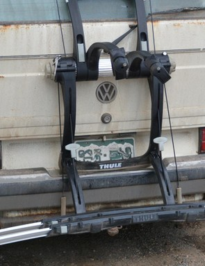 A low rack height makes for easy bike loading, but limits ground clearance
