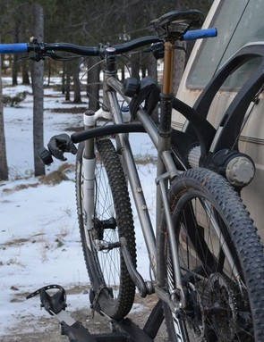 Thule's Raceway Platform works very well with one bike