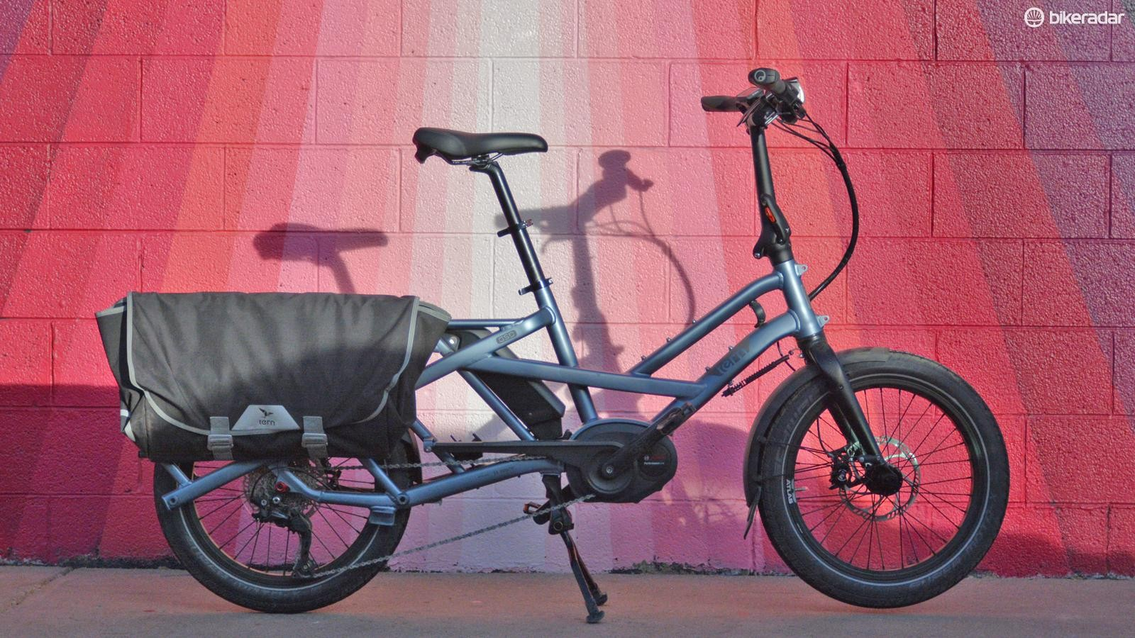 The Tern GSD could be the cargo transporting, car replacing electric bike for you