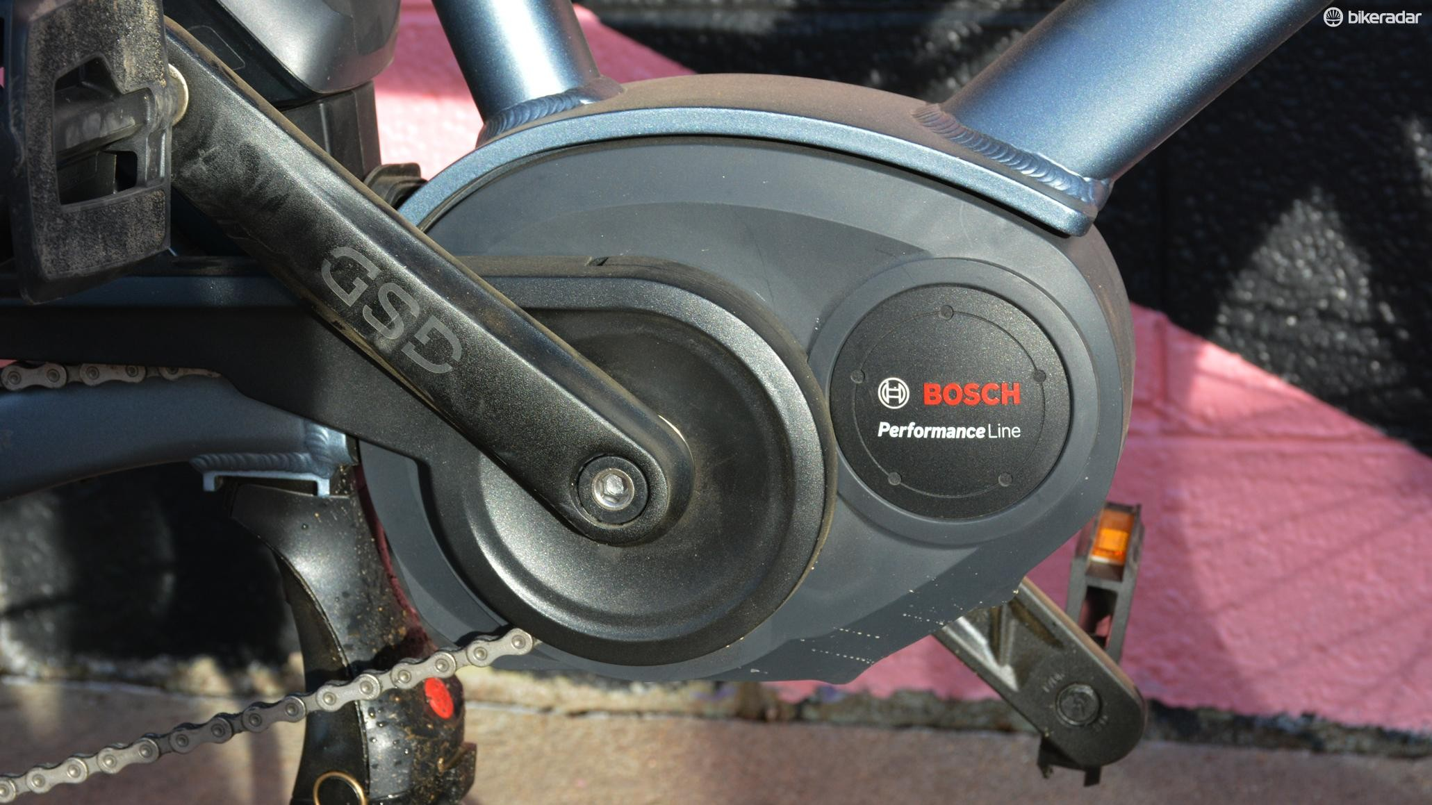 A 400Wh Bosch electric motor provides plenty of power and range