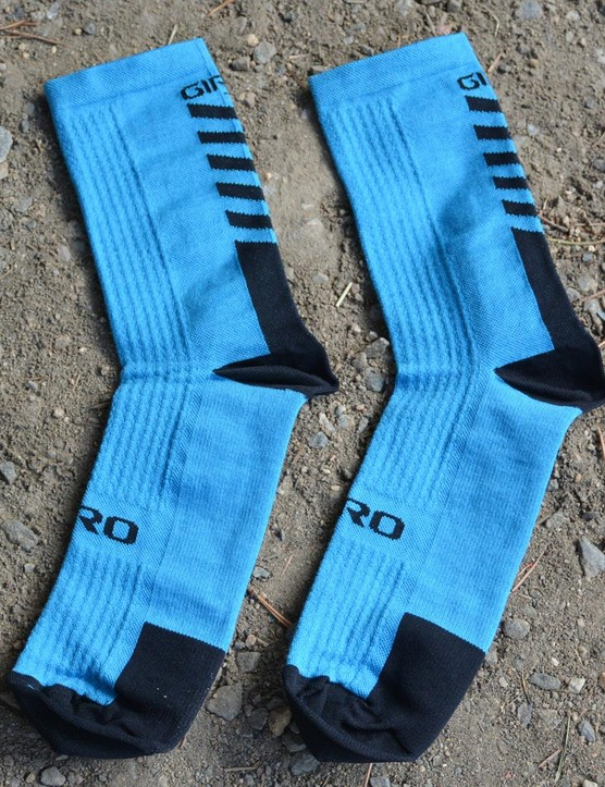 Giro's HRC+ Merino Wool socks are just the ticket for off-season riding