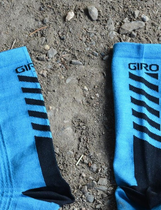 17cm-tall cuffs are a nice height and kudos to Giro for a bit of restraint on the logos