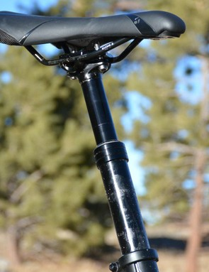 Bontrager's dropper post gets mixed reviews. This one worked flawlessly, it didn't miss an up or down