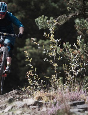 There's still plenty of stiffness for navigating through rock gardens