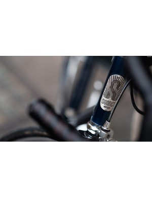 The Track MKII boasts a blingy, sterling silver headbadge
