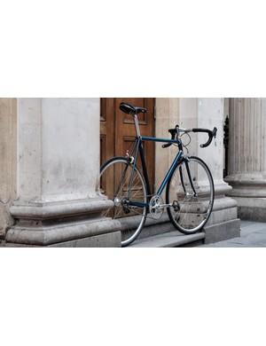Regal surroundings for a posh bike
