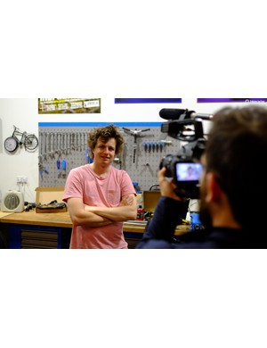 If you love bikes and know your way around a video camera then this could well be your dream job