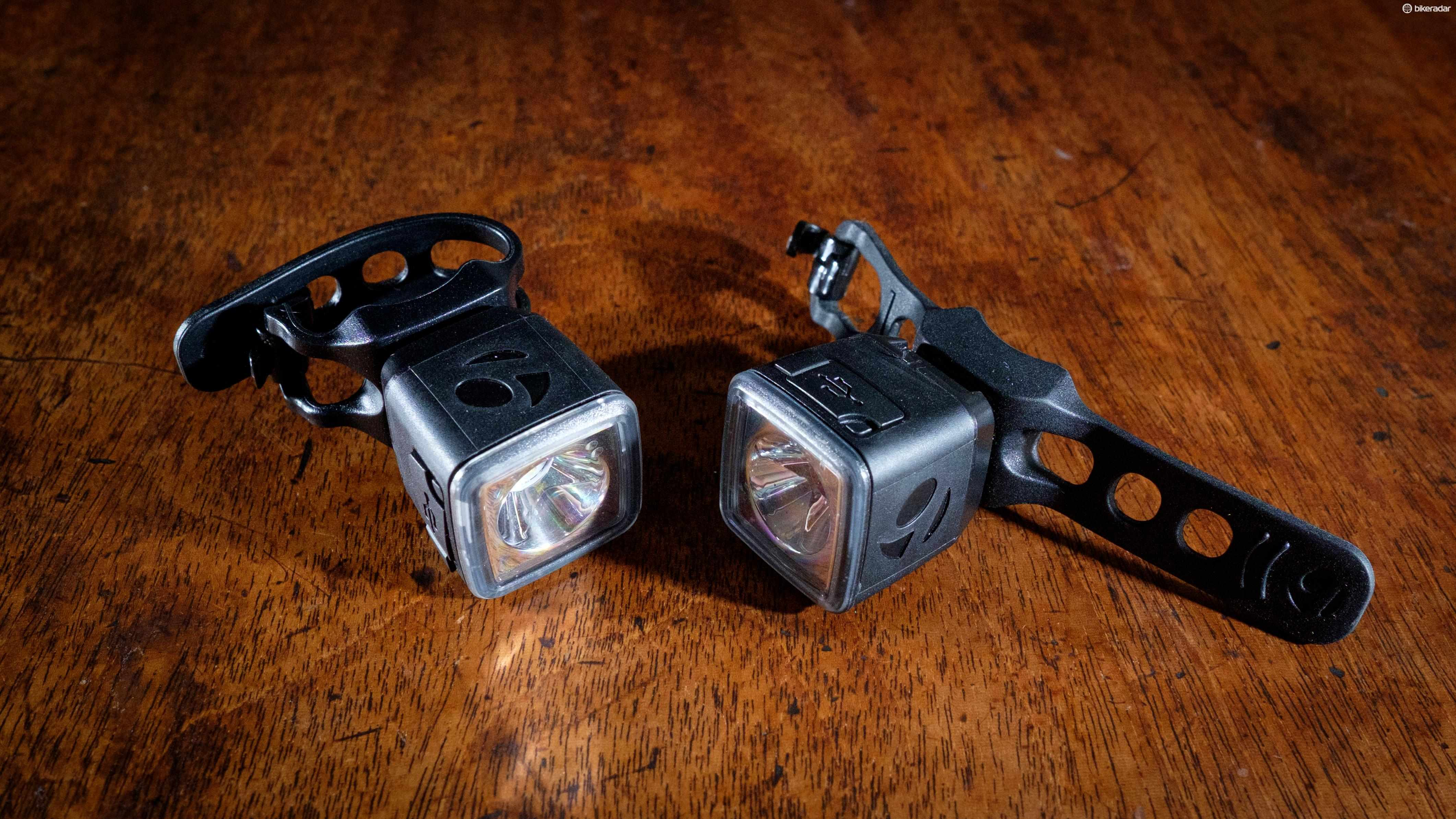 Bontrager's Ion 100 R/Flare R City lights are miniscule, but thanks to CREE LEDs and clever optics they pack a serious punch