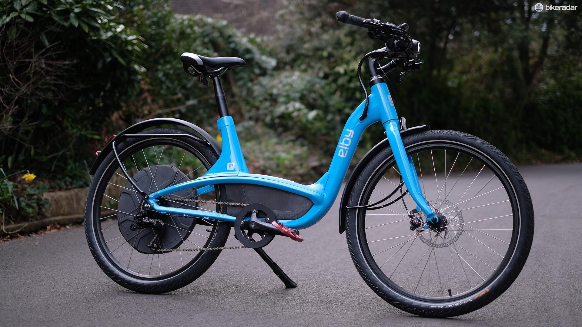 The Elby Bike is a comfortable and stately city bike with all the features you need