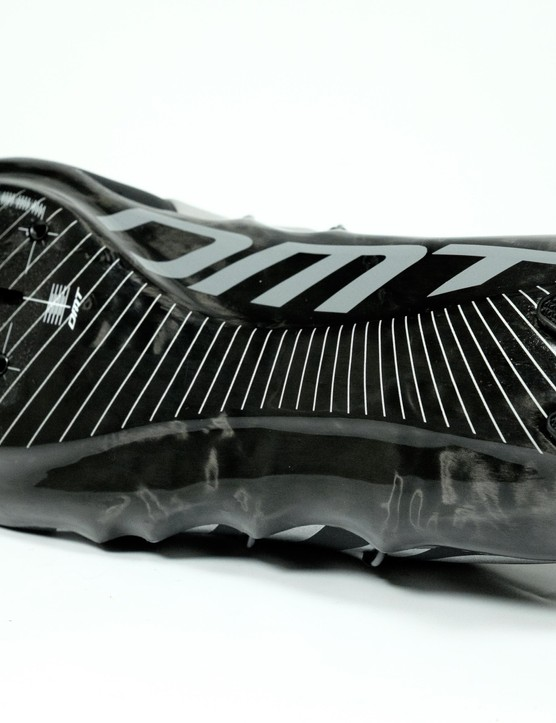 Full carbon soles get a replaceable heel section