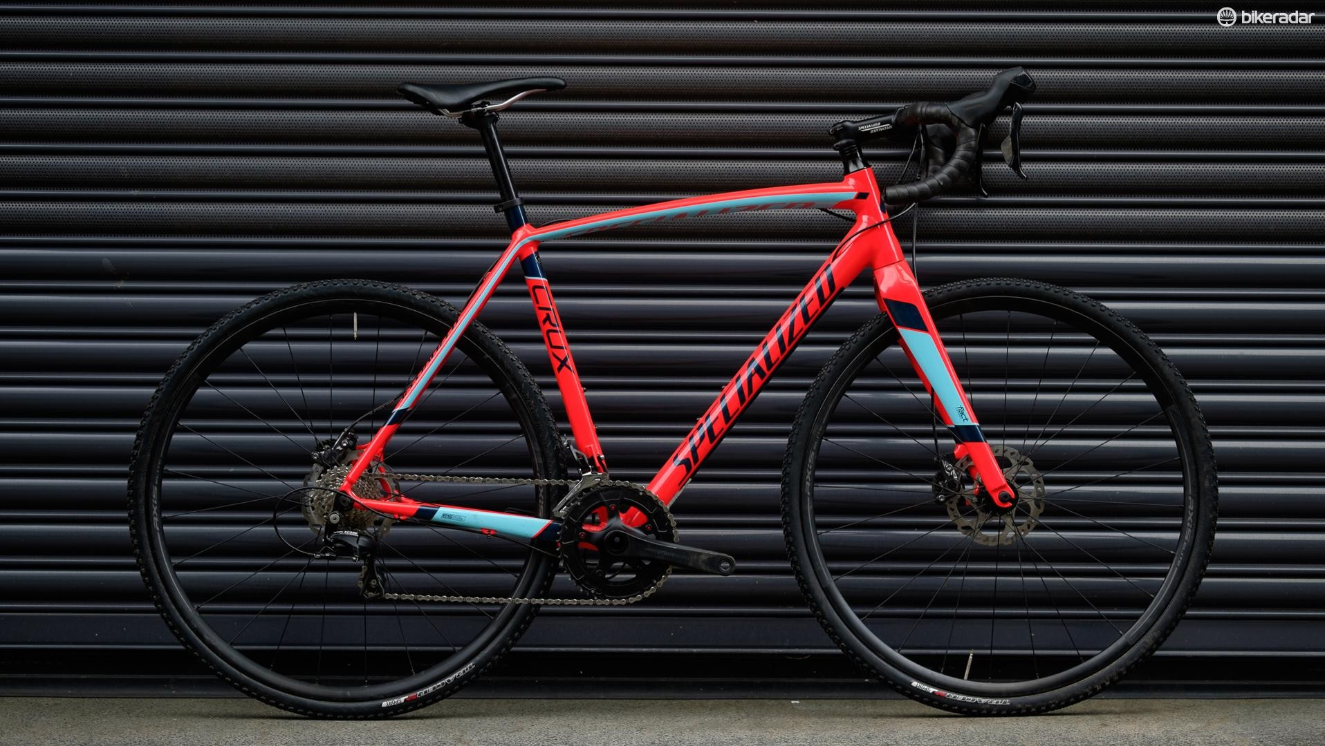 My weapon of choice was the Specialized CruX Sport E5