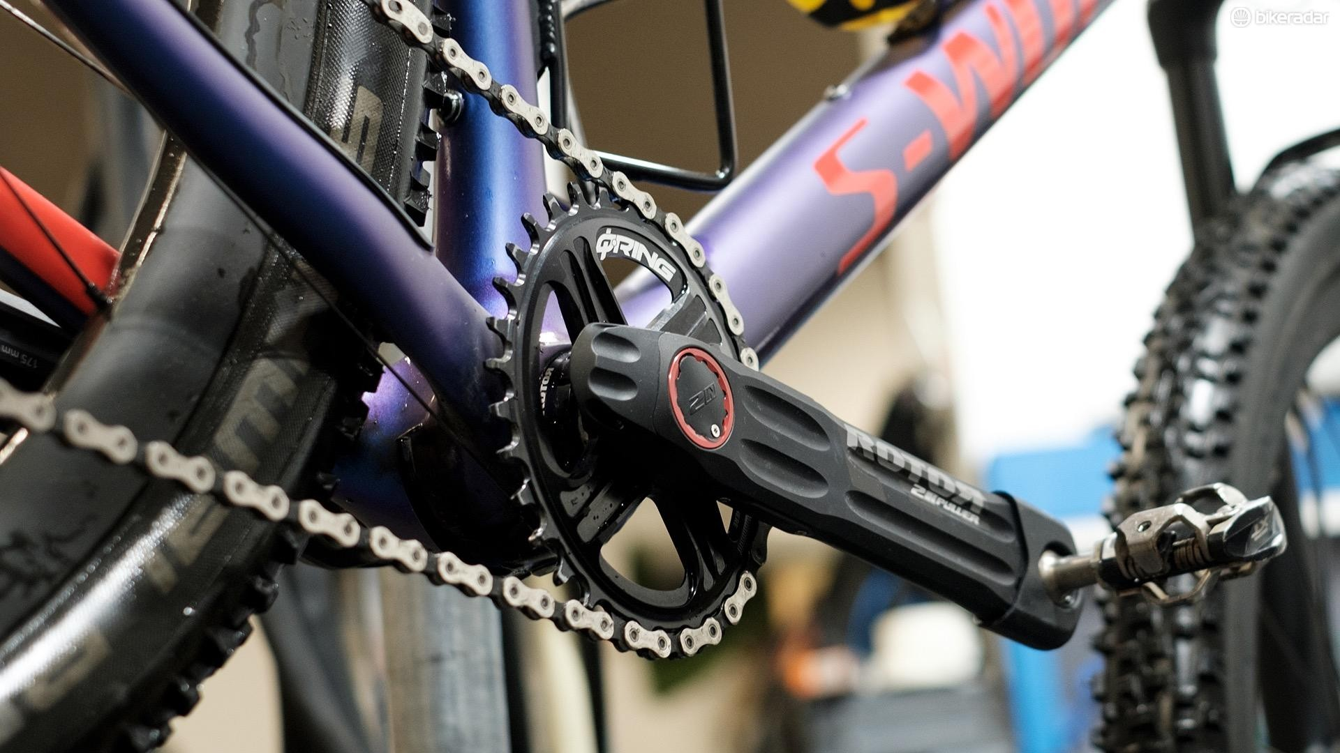 Rotor's new 2INpower mountain bike power meter