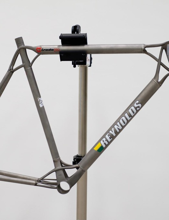 Mirada Pro's 3D printed titanium frame first caught our eye at Bristol's Bespoked handmade bike show