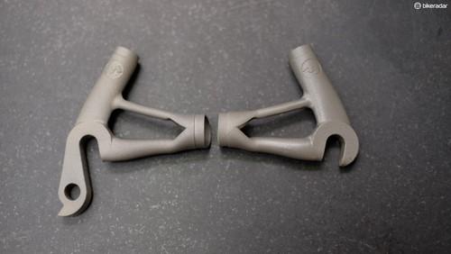 Mirada Pro's 3D printed titanium frame - BikeRadar