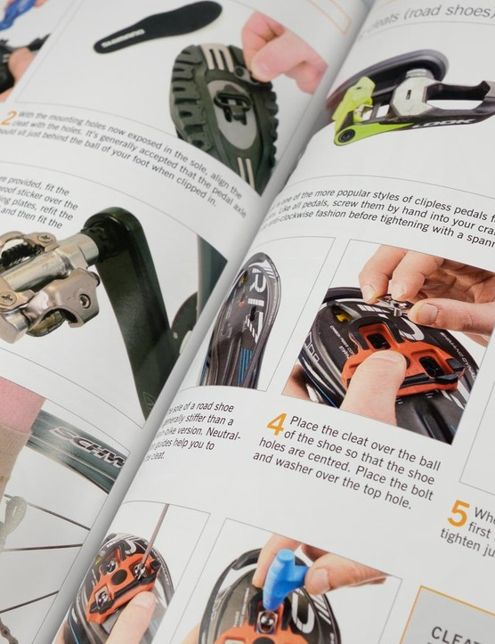 From cleats to cable routing, the Bike Book holds it all