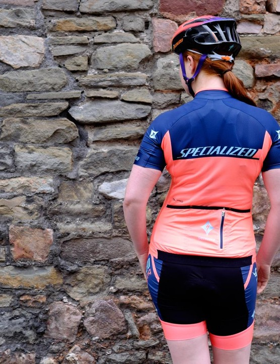 The kit is available in a range of colours, from the Team Neon navy and coral pictured, through to the rather striking Boels Dolmans team kit