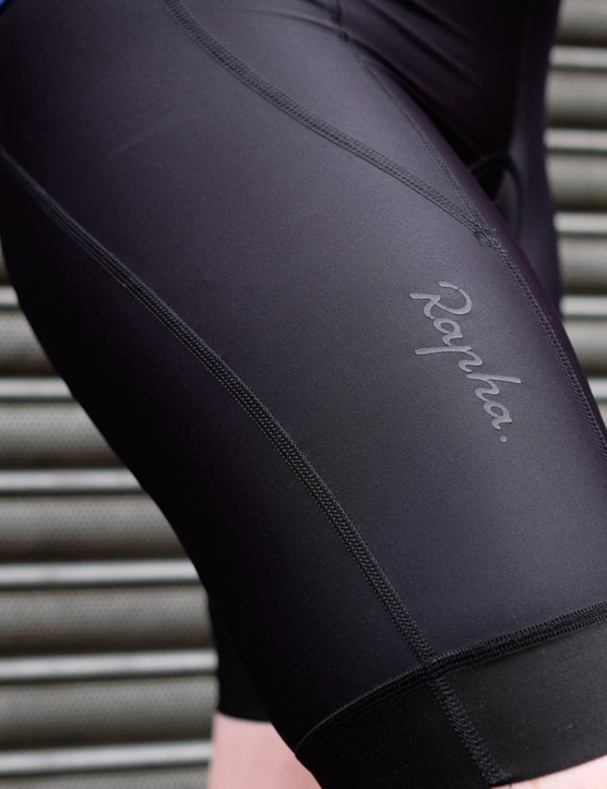 The Souplesse bib shorts have a panelled construction that's both supportive and flattering