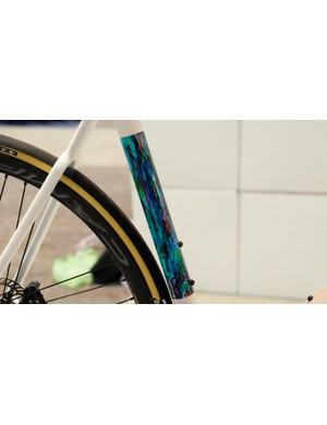 This Deanima AMG 01 has hand painted panels that resemble a watercolor and (of course) a frame pump to match