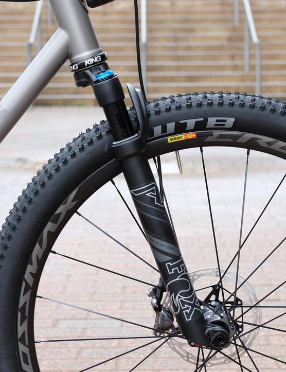 Fox introduced the 40mm-travel AX fork to the world at NAHBS in 2017