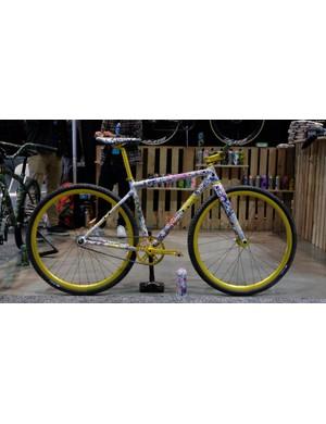 This Squid Bikes fixie was an eyecatcher