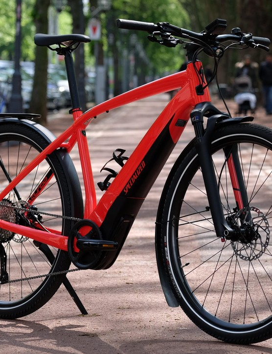 The Turbo Vado offers both a look and ride that will be familiar to many commuter cyclists already