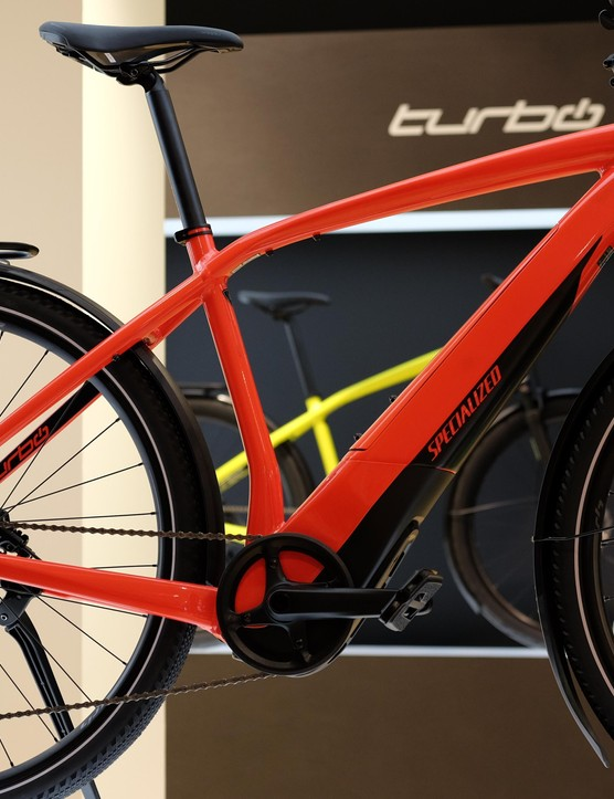 Specialized will be displaying its Turbo Vado models in a pop-up store in Dusseldorf for the next few weeks