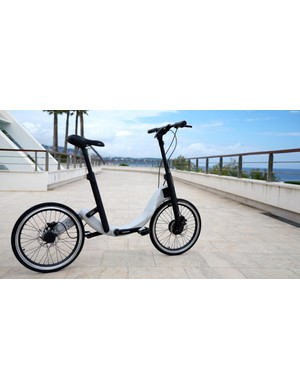 JIVR folding e-bike