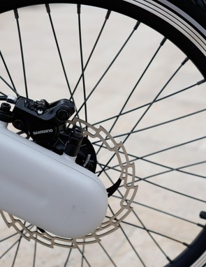 The JIVR gets 20in wheels like a BMX bike
