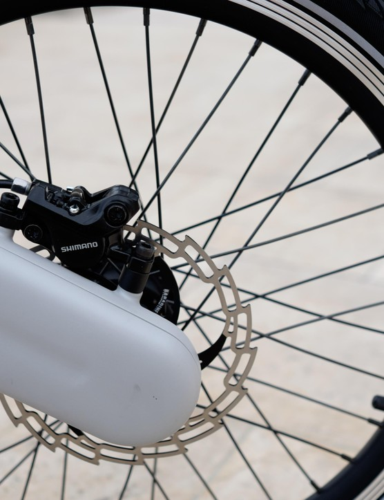 The JIVR gets 20in wheels like a BMX bike