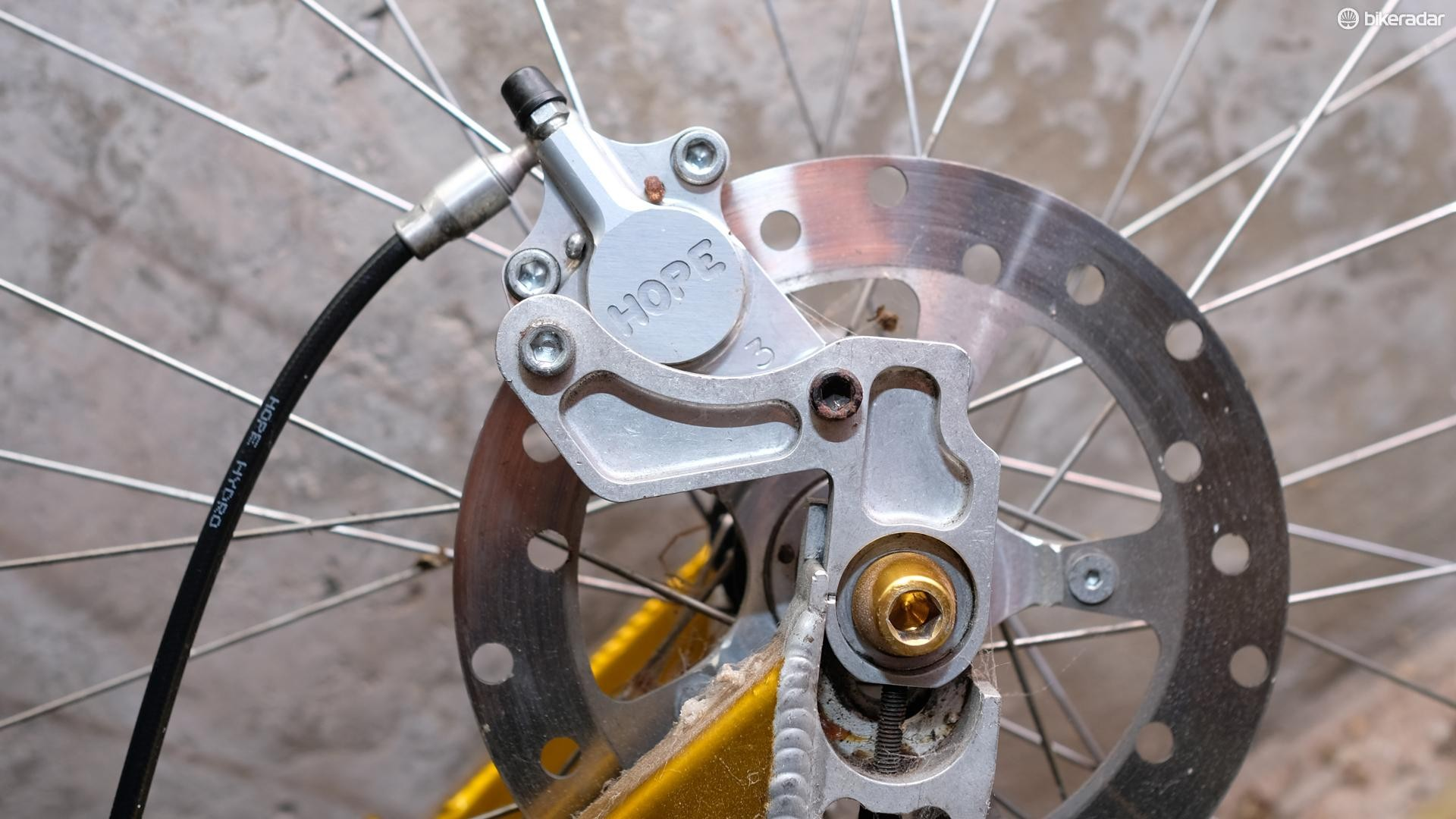 Mountain bike disc brakes have now seen more than two decades of refinement
