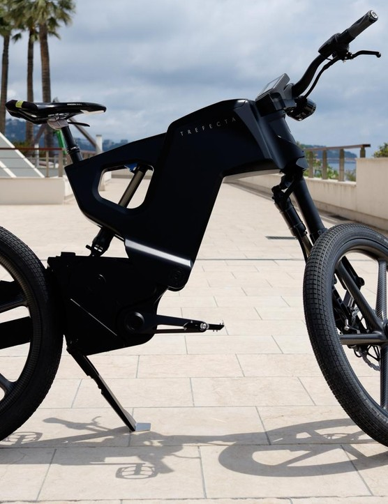The Trefecta DRT is unlike any other e-bike we've encountered