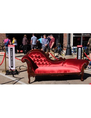 This chaise would soon be on course