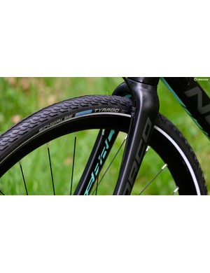 The Norco Search's Tyrago front tyre