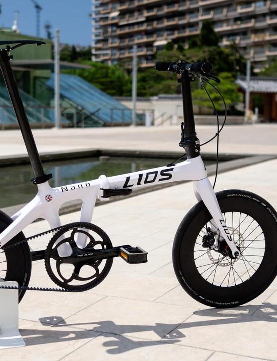 The Lios Nano is a lightweight, high-performance alternative to more mainstream folding bikes