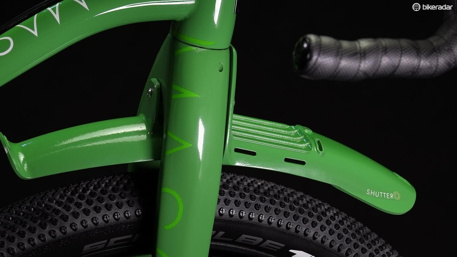 Mason's InSearchOf has a proprietary, load-bearing front mudguard/fender