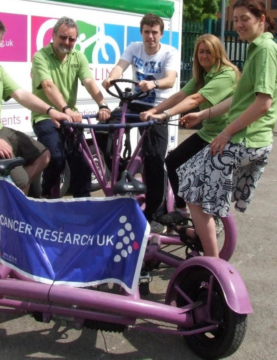 This lovely-looking machine was ridden the length of Britain in under a month to raise money for Cancer Research UK