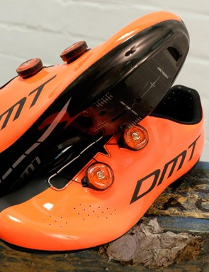 DMT's R1 road shoes are hard to miss