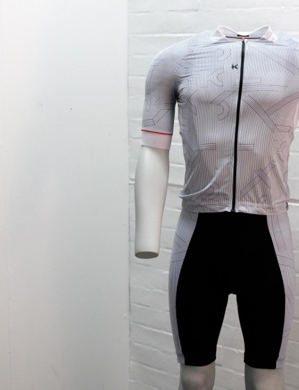 Katusha Sports has a new line of clothing, and it's quite distinctive looking